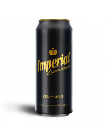 Imperial Cream Stout Lata 473 cm3