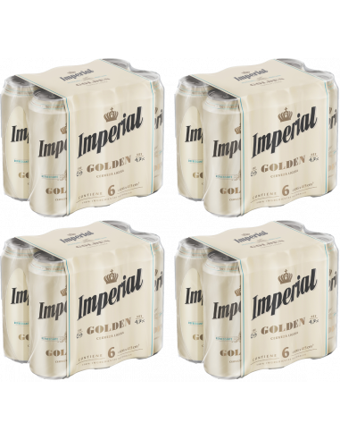 Pack Imperial Golden 473cc x 24