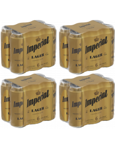 Pack Imperial Lager 473cc x 24
