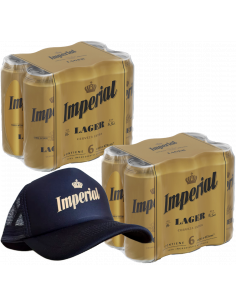 Combo Imperial Lager 473cc...