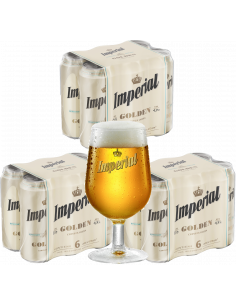 Combo Imperial Golden 473cc...