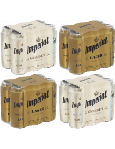 Pack imperial 473cc  Golden...