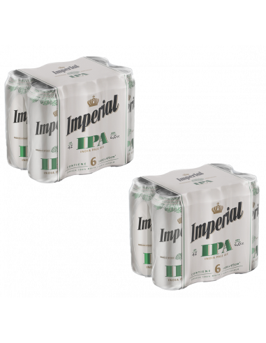 Pack Imperial IPA lata 473cc x 12