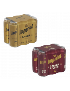 Pack Imperial Lager + Amber...