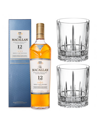 Combo Whisky The Macallan Triple Cask...