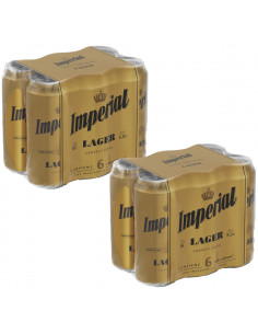 Pack Imperial Lager lata...